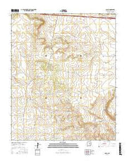 Palma New Mexico Current topographic map, 1:24000 scale, 7.5 X 7.5 Minute, Year 2017 from New Mexico Maps Store