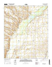 Paraje Well New Mexico Current topographic map, 1:24000 scale, 7.5 X 7.5 Minute, Year 2017 from New Mexico Maps Store
