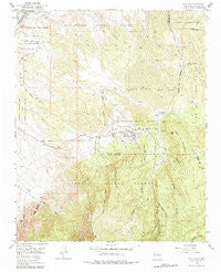Placitas New Mexico Historical topographic map, 1:24000 scale, 7.5 X 7.5 Minute, Year 1954