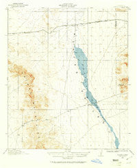 Playas New Mexico Historical topographic map, 1:62500 scale, 15 X 15 Minute, Year 1918