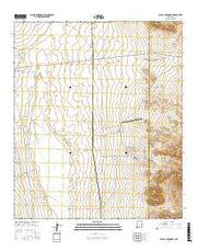 Playas Lake North New Mexico Current topographic map, 1:24000 scale, 7.5 X 7.5 Minute, Year 2017 from New Mexico Maps Store