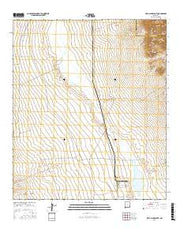 Playas Lake South New Mexico Current topographic map, 1:24000 scale, 7.5 X 7.5 Minute, Year 2017 from New Mexico Maps Store