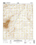 Quay New Mexico Current topographic map, 1:24000 scale, 7.5 X 7.5 Minute, Year 2017 from New Mexico Map Store