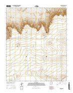 Ragland New Mexico Current topographic map, 1:24000 scale, 7.5 X 7.5 Minute, Year 2017 from New Mexico Map Store
