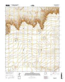 Ragland New Mexico Current topographic map, 1:24000 scale, 7.5 X 7.5 Minute, Year 2017