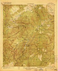 Reserve New Mexico Historical topographic map, 1:125000 scale, 30 X 30 Minute, Year 1918