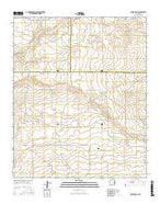 Rippee Ranch New Mexico Current topographic map, 1:24000 scale, 7.5 X 7.5 Minute, Year 2017 from New Mexico Map Store