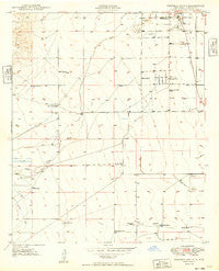 Roswell South New Mexico Historical topographic map, 1:24000 scale, 7.5 X 7.5 Minute, Year 1949