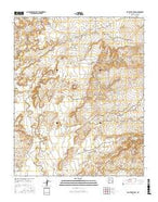 San Felipe Mesa New Mexico Current topographic map, 1:24000 scale, 7.5 X 7.5 Minute, Year 2017 from New Mexico Map Store