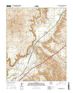 San Felipe Pueblo New Mexico Current topographic map, 1:24000 scale, 7.5 X 7.5 Minute, Year 2017 from New Mexico Map Store