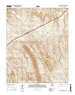 San Felipe Pueblo NE New Mexico Current topographic map, 1:24000 scale, 7.5 X 7.5 Minute, Year 2017 from New Mexico Map Store