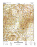 Sandia Park New Mexico Current topographic map, 1:24000 scale, 7.5 X 7.5 Minute, Year 2017 from New Mexico Map Store