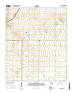 Schram Lake New Mexico Current topographic map, 1:24000 scale, 7.5 X 7.5 Minute, Year 2017 from New Mexico Map Store