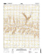 Smith Ranch New Mexico Current topographic map, 1:24000 scale, 7.5 X 7.5 Minute, Year 2017 from New Mexico Map Store