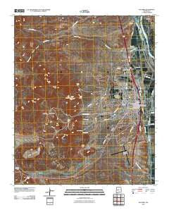 Socorro New Mexico Historical topographic map, 1:24000 scale, 7.5 X 7.5 Minute, Year 2010