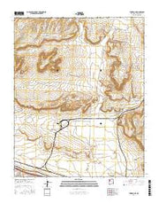 Thoreau NE New Mexico Current topographic map, 1:24000 scale, 7.5 X 7.5 Minute, Year 2017 from New Mexico Maps Store
