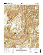 Todilto Park New Mexico Current topographic map, 1:24000 scale, 7.5 X 7.5 Minute, Year 2017 from New Mexico Maps Store