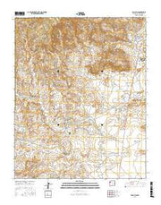 Tohatchi New Mexico Current topographic map, 1:24000 scale, 7.5 X 7.5 Minute, Year 2017 from New Mexico Maps Store
