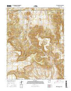 Trinchera Pass New Mexico Current topographic map, 1:24000 scale, 7.5 X 7.5 Minute, Year 2017 from New Mexico Map Store