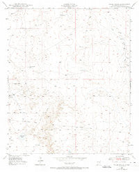 Wade Ranch New Mexico Historical topographic map, 1:24000 scale, 7.5 X 7.5 Minute, Year 1949