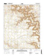 Wade Canyon New Mexico Current topographic map, 1:24000 scale, 7.5 X 7.5 Minute, Year 2017 from New Mexico Map Store