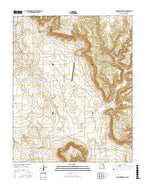 Waggoner Ranch New Mexico Current topographic map, 1:24000 scale, 7.5 X 7.5 Minute, Year 2017 from New Mexico Map Store