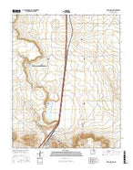 Wagon Mound New Mexico Current topographic map, 1:24000 scale, 7.5 X 7.5 Minute, Year 2017 from New Mexico Map Store