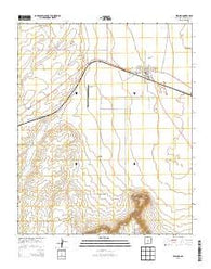 Willard New Mexico Historical topographic map, 1:24000 scale, 7.5 X 7.5 Minute, Year 2013