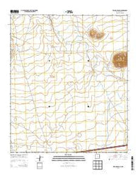 Williams Ranch New Mexico Historical topographic map, 1:24000 scale, 7.5 X 7.5 Minute, Year 2013