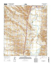 Williamsburg New Mexico Historical topographic map, 1:24000 scale, 7.5 X 7.5 Minute, Year 2013