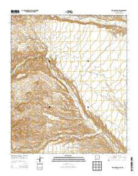 Williamsburg NW New Mexico Historical topographic map, 1:24000 scale, 7.5 X 7.5 Minute, Year 2013