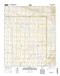 Willow Draw New Mexico Historical topographic map, 1:24000 scale, 7.5 X 7.5 Minute, Year 2013