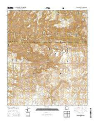 Wilson Mountain New Mexico Historical topographic map, 1:24000 scale, 7.5 X 7.5 Minute, Year 2013