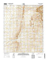 Wilson Ranch New Mexico Historical topographic map, 1:24000 scale, 7.5 X 7.5 Minute, Year 2013