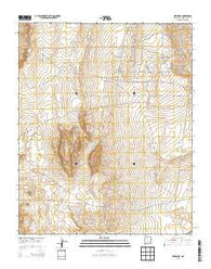 Wind Mesa New Mexico Historical topographic map, 1:24000 scale, 7.5 X 7.5 Minute, Year 2013