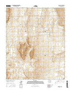 Wind Mesa New Mexico Current topographic map, 1:24000 scale, 7.5 X 7.5 Minute, Year 2017 from New Mexico Map Store