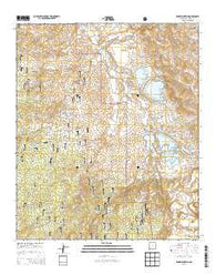 Wind Mountain New Mexico Historical topographic map, 1:24000 scale, 7.5 X 7.5 Minute, Year 2013