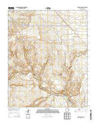 Windmill Draw New Mexico Historical topographic map, 1:24000 scale, 7.5 X 7.5 Minute, Year 2013