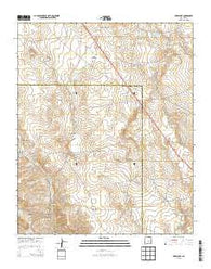 Wire Lake New Mexico Historical topographic map, 1:24000 scale, 7.5 X 7.5 Minute, Year 2013