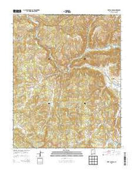 Wirt Canyon New Mexico Historical topographic map, 1:24000 scale, 7.5 X 7.5 Minute, Year 2013