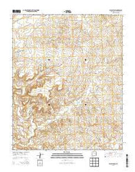 Wolf Stand New Mexico Historical topographic map, 1:24000 scale, 7.5 X 7.5 Minute, Year 2013