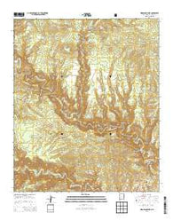 Woodland Park New Mexico Historical topographic map, 1:24000 scale, 7.5 X 7.5 Minute, Year 2013