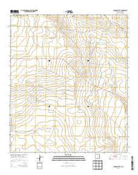 Woodley Flat New Mexico Historical topographic map, 1:24000 scale, 7.5 X 7.5 Minute, Year 2013