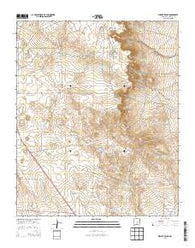 Wright Ranch New Mexico Historical topographic map, 1:24000 scale, 7.5 X 7.5 Minute, Year 2013
