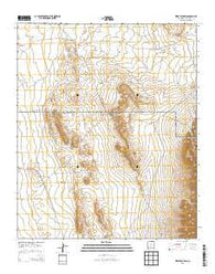 Wrye Peak SW New Mexico Historical topographic map, 1:24000 scale, 7.5 X 7.5 Minute, Year 2013