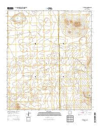 X-7 Ranch New Mexico Historical topographic map, 1:24000 scale, 7.5 X 7.5 Minute, Year 2013