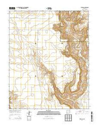 Yates SE New Mexico Historical topographic map, 1:24000 scale, 7.5 X 7.5 Minute, Year 2013