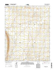 Yellow Hill New Mexico Historical topographic map, 1:24000 scale, 7.5 X 7.5 Minute, Year 2013
