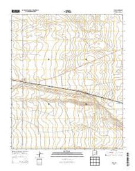Yeso New Mexico Historical topographic map, 1:24000 scale, 7.5 X 7.5 Minute, Year 2013