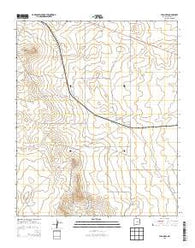 Yeso Mesa New Mexico Historical topographic map, 1:24000 scale, 7.5 X 7.5 Minute, Year 2013